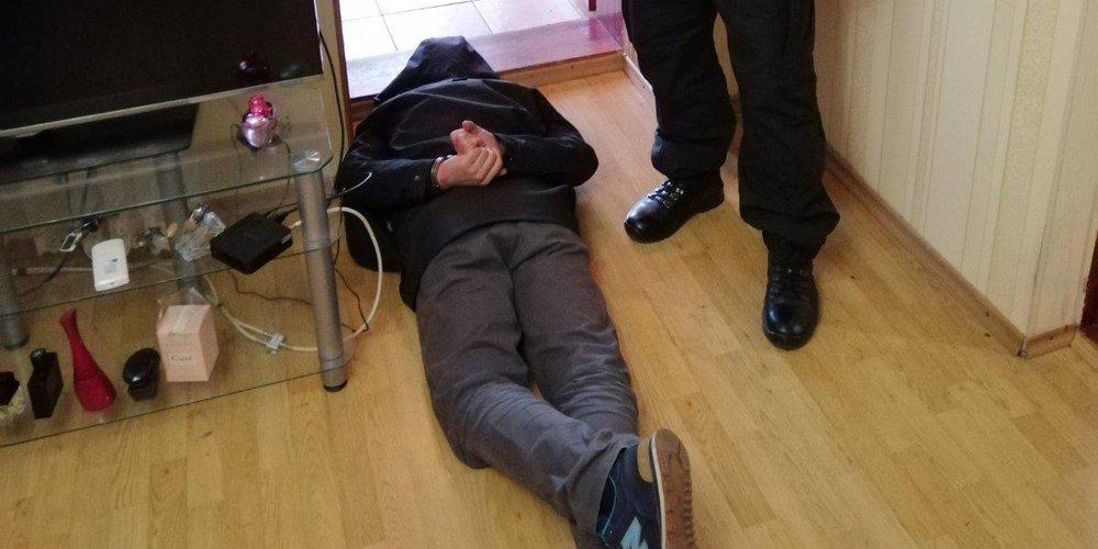 У Вінниці поліція затримала рецидивіста прямо на місці крадіжки