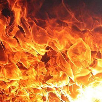 В селі Хмільницького району спалахнула літня кухня