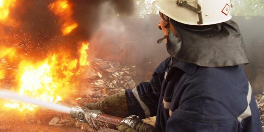 У Немирівському районі на пожежі врятували вчаділого чоловіка