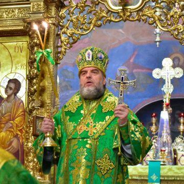 В новорічну ніч у Спасо-Преображенському кафедральному соборі звершили літургію