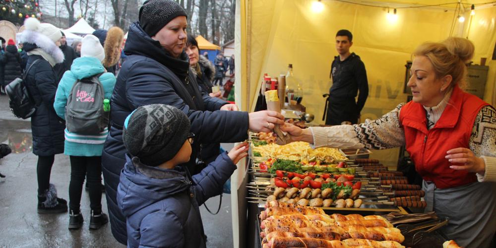На вихідних вінничан і гостей міста запрошує «Vinnytsia Food Fest»