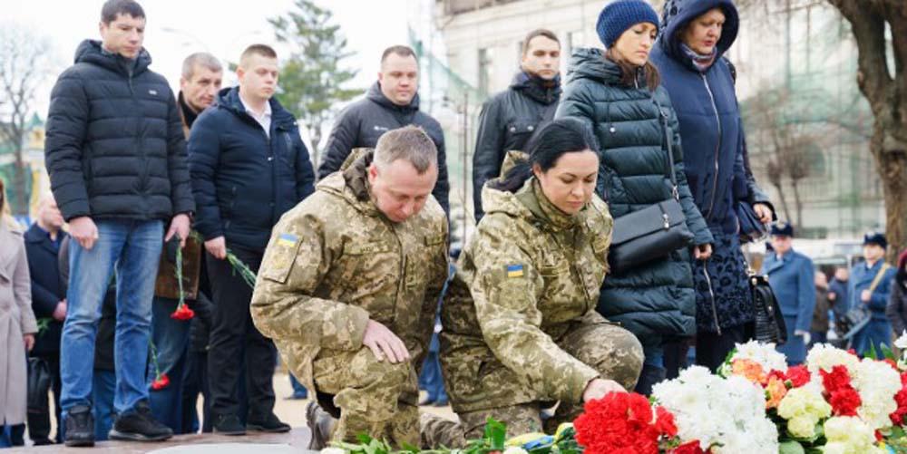 У Вінниці вшанували пам'ять героїв Небесної Сотні