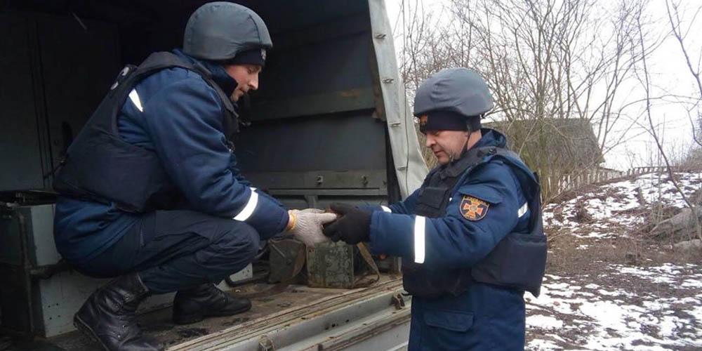 Артилерійський снаряд та мінометну міну знищили рятувальники на Вінниччині