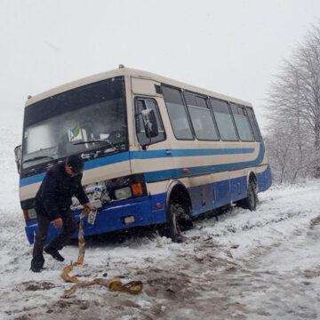 Погребищенські рятувальники надали допомогу водієві автобусу