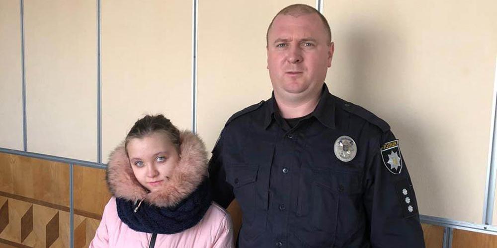 Поліція розшукала дівчину, яка після сварки з мамою пішла з дому