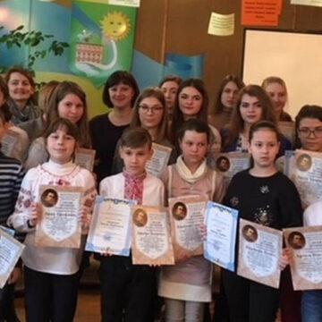 У IV етапі міжнародного конкурсу з української мови взяло участь 35 дітей