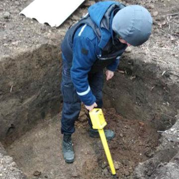Вінницькі рятувальники знищили два артилерійські снаряди
