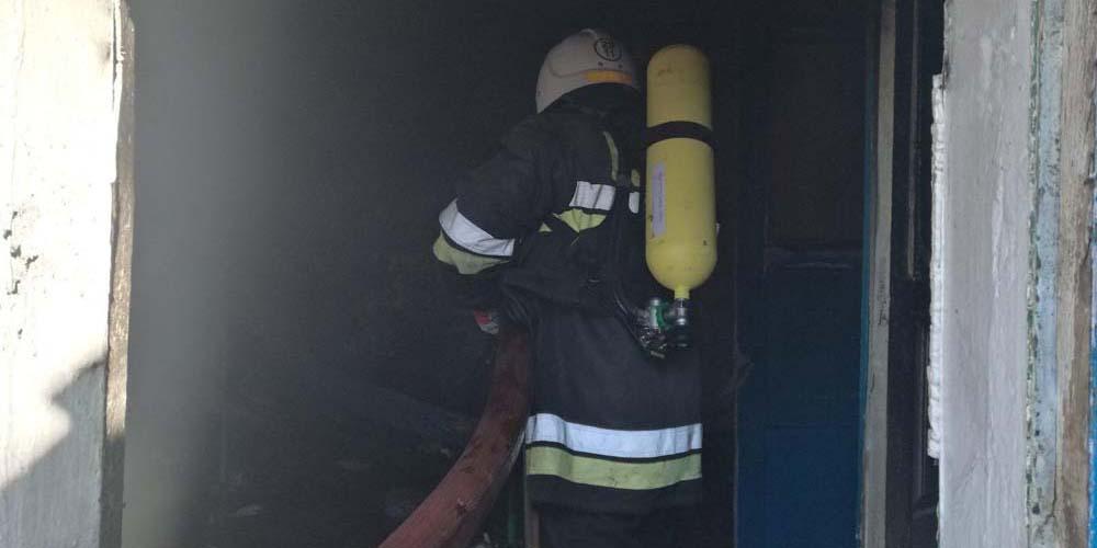 У Могилів-Подільському районы рятувальники ліквідували пожежу в господарчій будівлі