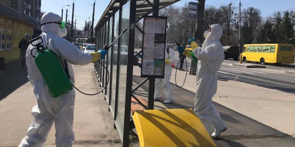 У Вінниці тепер дизінфікують вулиці, щоб запобігти коронавірусу