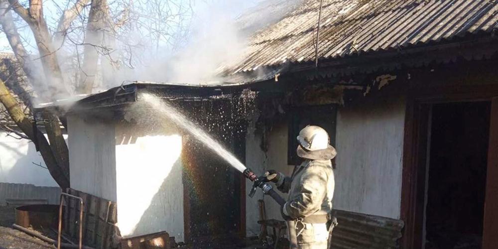 На Вінниччині під час пожежі загинула літня жінка