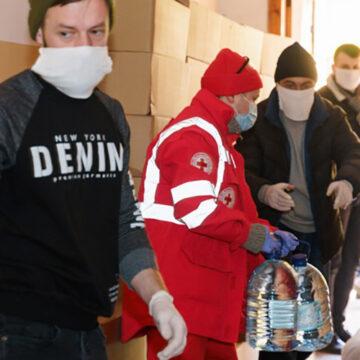 На Вінниччині пенсіонерам доставили близько 30 тисяч продуктових наборів