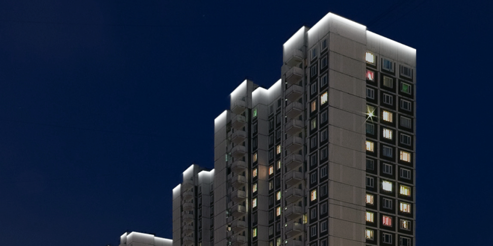 Вінничанин пропонує підсвітити дахи міських висоток, щоб було стильно
