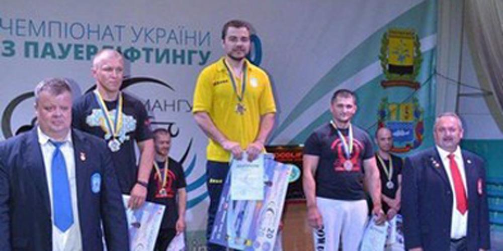 Спортсмени з Вінниччини виграли золото та срібло на Чемпіонаті України