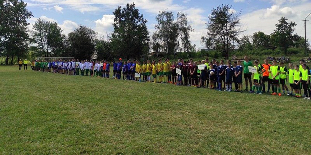 На Вінниччині стартував футбольний чемпіонат серед молоді «Золотий колосок»