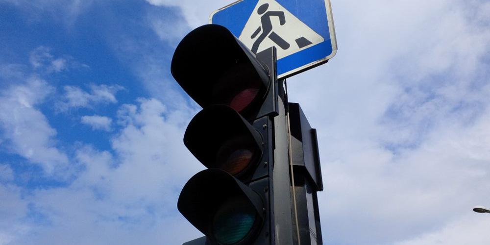 На вулиці Замостянській не працюють світлофори