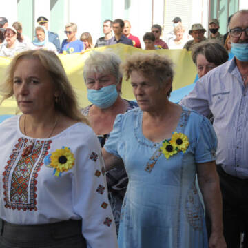 У Вінниці відбулась поминальна Хода Пам`яті загиблих в боротьбі за незалежність
