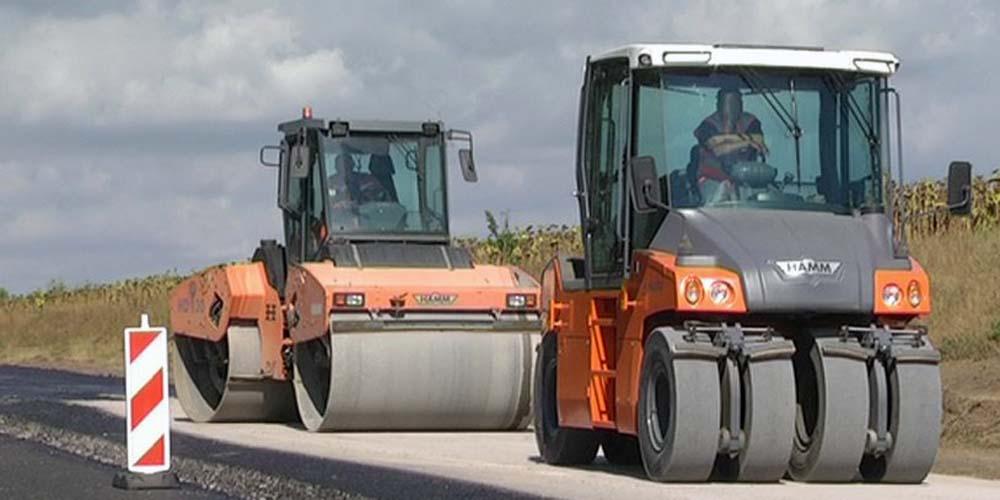 """Вінницьке підприємство ремонтує дорогу в обхід міста Сум на трасі """"Суми-Полтава"""""""