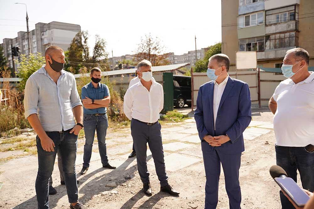 Мер Вінниці ініціюватиме перед депутатами виділення коштів для продовження реконструкції СКА