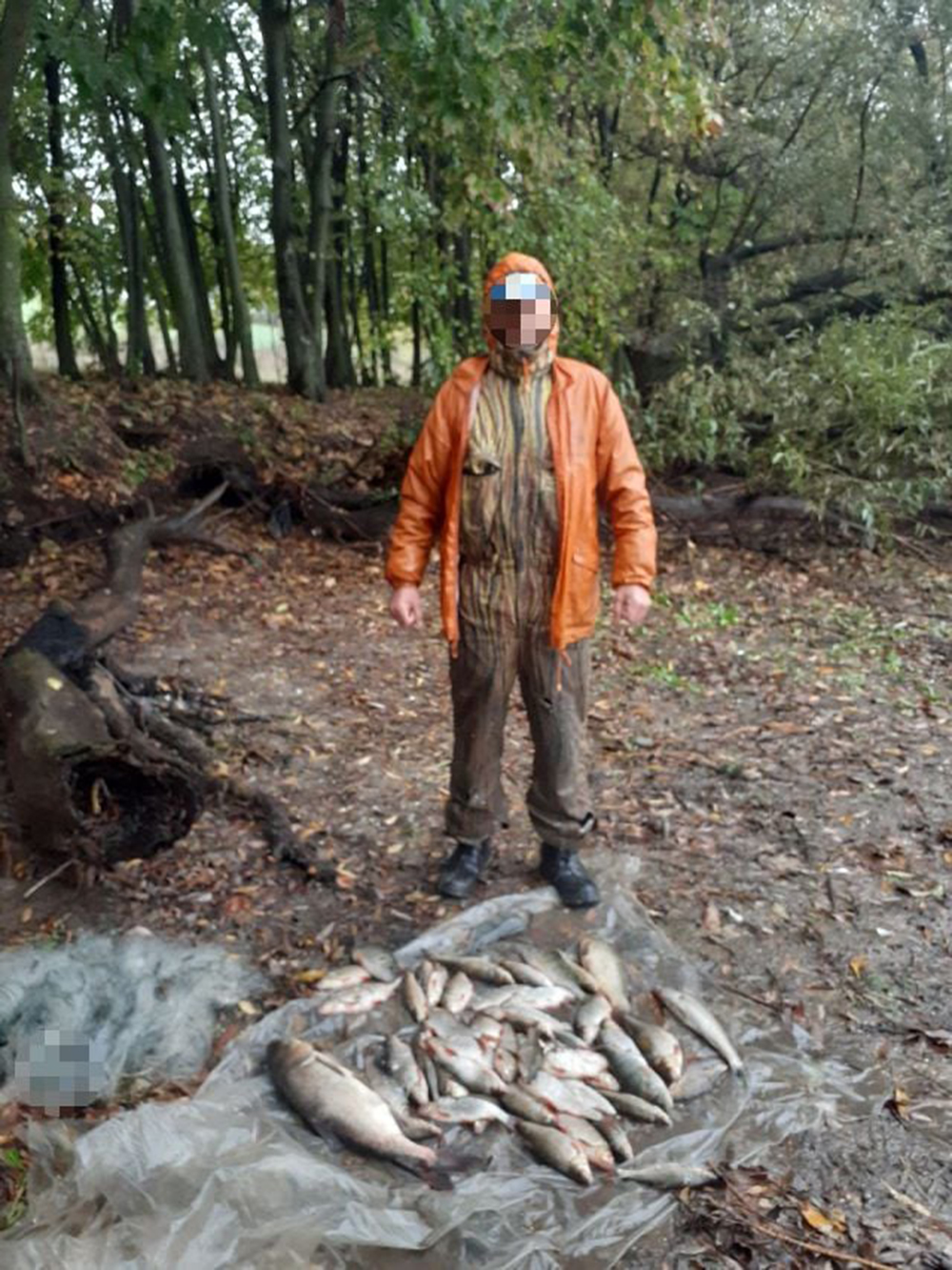 В Тульчинському районі рибалка ловив рибу сітками – отримав штраф