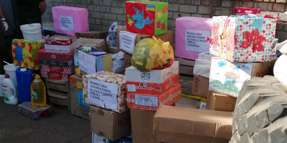Днями на передову з Вінниці відправили чотиритонний гуманітарний вантаж