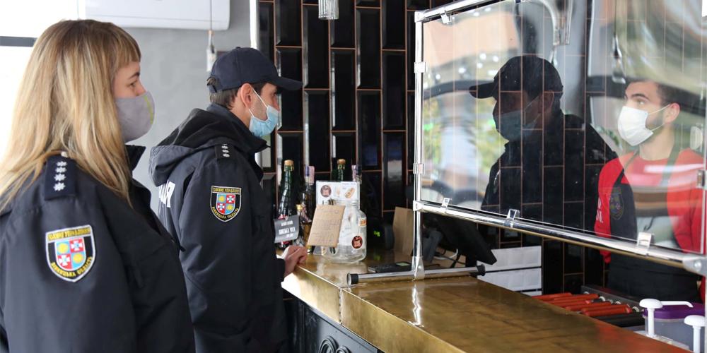 Які порушення карантинних обмежень виявили вінницькі правоохоронці за вихідні