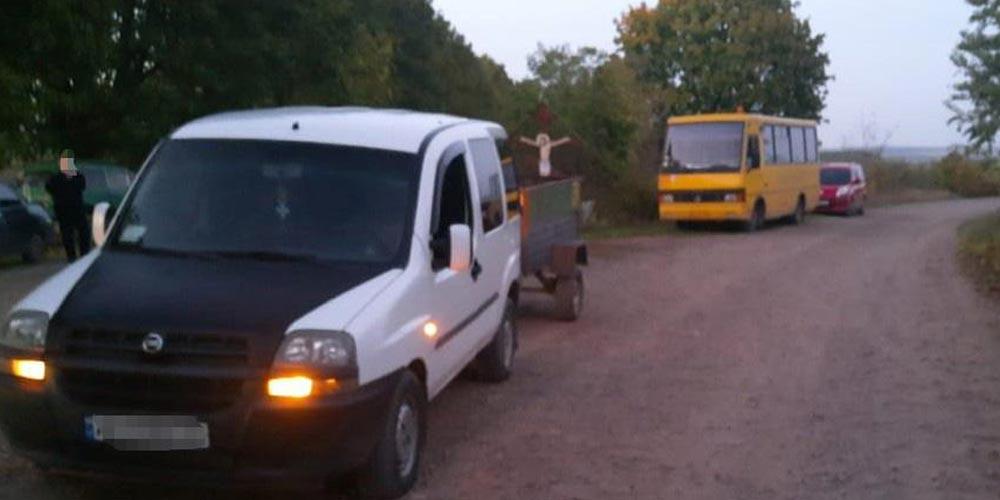 У Могилів-Подільському районі 11-річний хлопчик потрапив під колеса авто