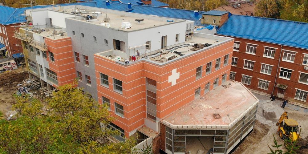 З бюджету міста виділили 29 млн грн на завершення добудови нового корпусу лікарні ШМД