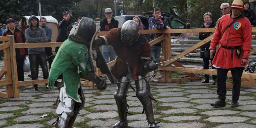 У Вінниці відбувся лицарський турнір пам'яті Максима Шимка