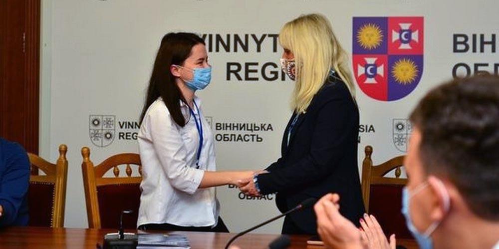 Юлію Юнову обрали головою Студентської ради Вінниччини