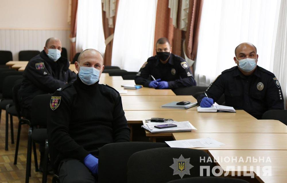 Вінницьких поліцейських навчали по-європейськи поводитися із затриманими