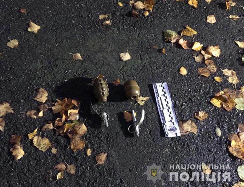 У Вінницькому районі чоловік погрожував гранатами охороннику сільгосптовариства