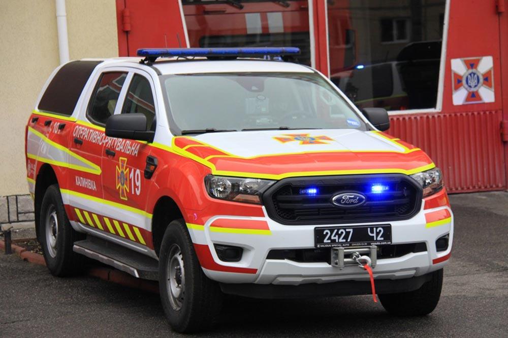 Вінницькі рятувальники отримали сучасні спецавтівки