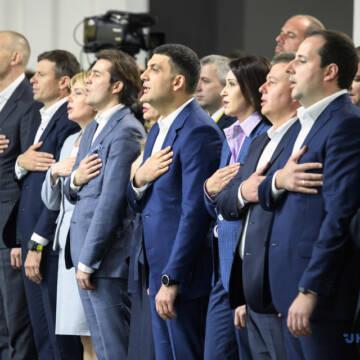 """За даними соцопитування """"Українська стратегія Гройсмана"""" увійде до парламенту"""