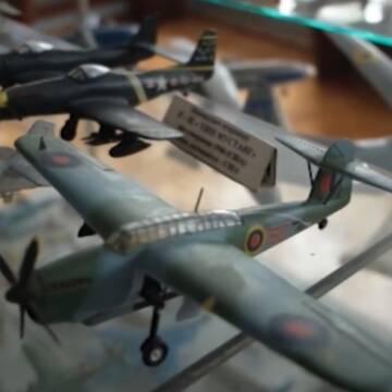 В одному з вінницьких музеїв з'явиться експозиція з трьох сотень літаків у мініатюрі