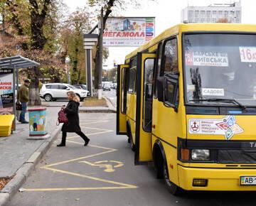 У Вінниці перевіряли дотримання санітарних норм маршрутчиками. Складено декілька протоколів