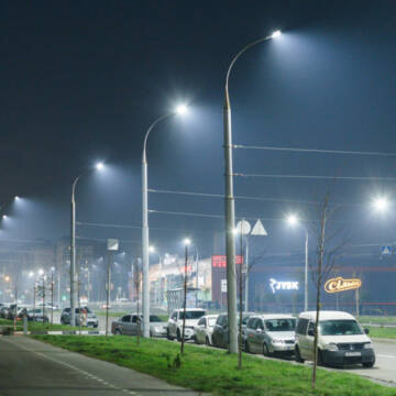 У Вінниці проводять реконструкцію мережі освітлення на Келецькій та Барському шос