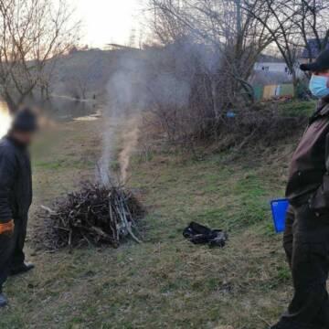 У Вінниці продовжують штрафувати паліїв листя
