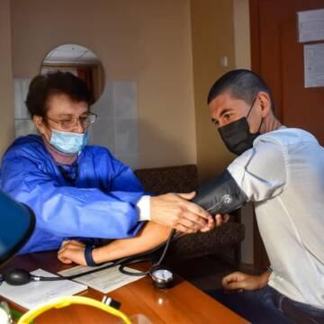 Вінницькі патрульні проходять щеплення вакциною CoronaVac