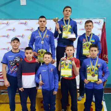 Декілька вінничан здобули медалі на Всеукраїнському турнірі з греко-римської боротьби