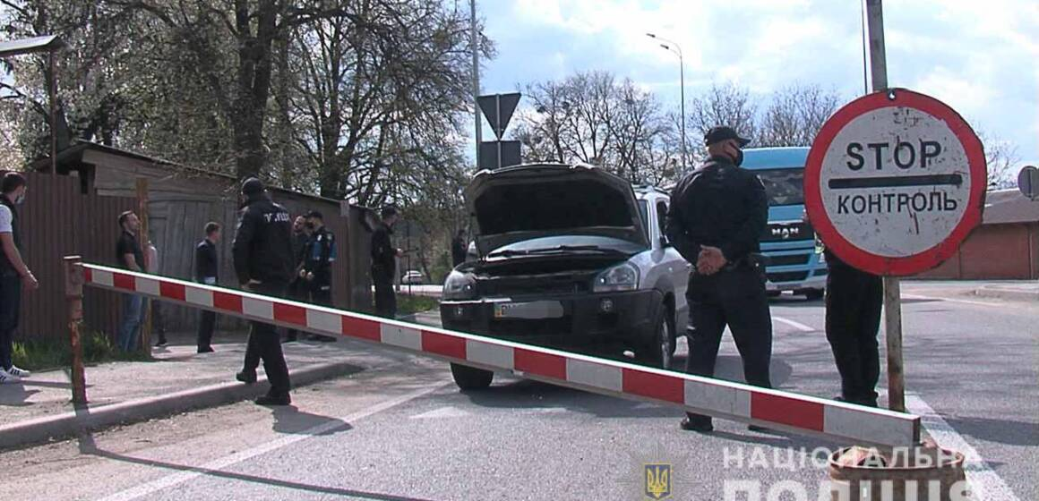 Вінницькі поліцейські затримали крадіїв з Одеси