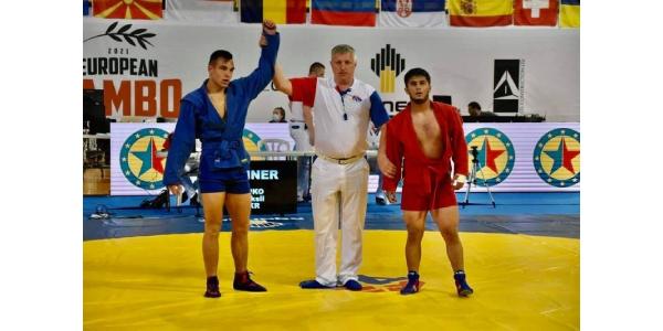 Вінничанин став віце-переможцем Чемпіонату Європи з боротьби самбо