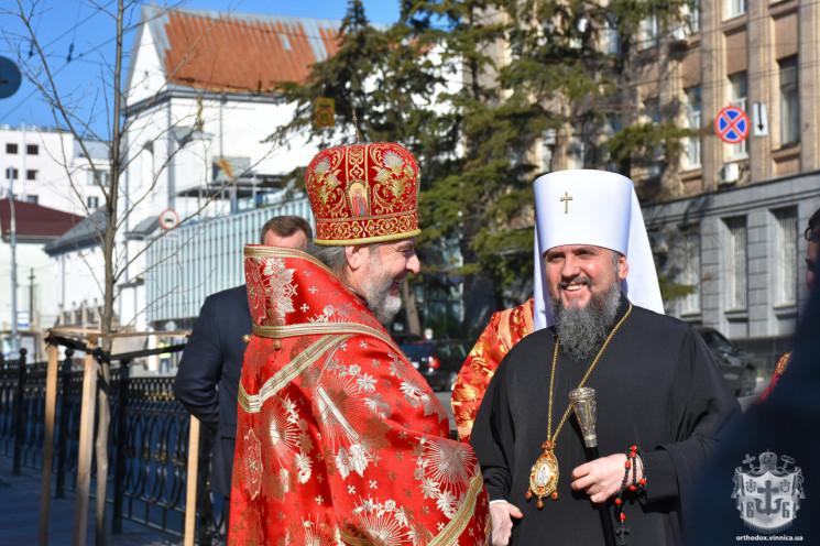 Вінницю відвідав предстоятель Православної церкви України