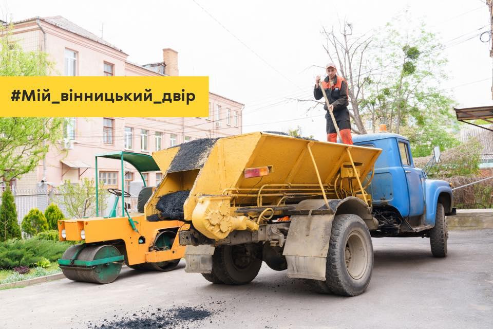 Цьогоріч у Вінниці приведуть до ладу 11 прибудинквоих територій