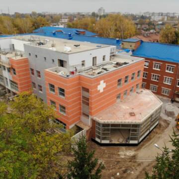 У Вінниці завершили будівництво нового корпусу лікарні ШМД на Київській
