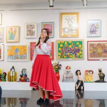 У Вінниці проходить виставка робіт вихованці Вінницької дитячої школи мистецтв