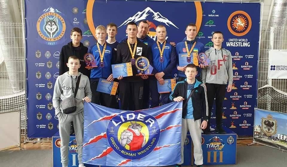Вінничани здобули чотири нагороди на міжнародному турнірі з греко-римської боротьби