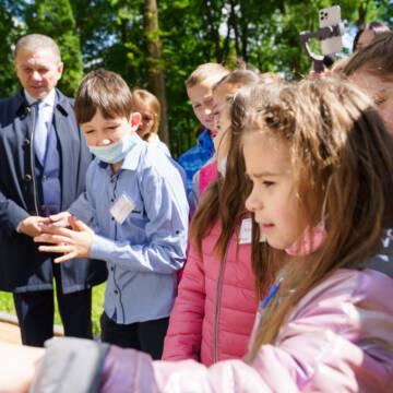 Сергій Моргунов привітав маленьких вінничан з міжнародним днем захисту дітей