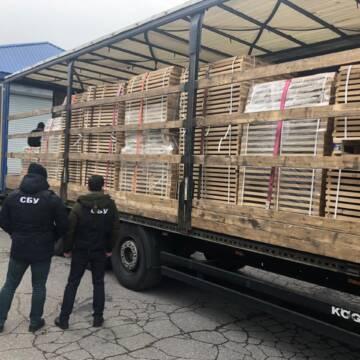 СБУ на Вінниччині запобігла контрабанді деревини на мільйон гривень