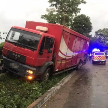 На Вінниччині вантажівка насмерть збила пішохода