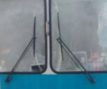 На Вишеньці загорівся тролейбус